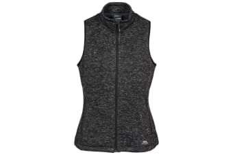 Trespass Womens/Ladies Mildred Fleece Gilet (Black Marl) (XXS)