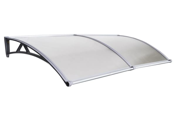 DIY Outdoor Awning Cover 1mx2m with Rain Gutter