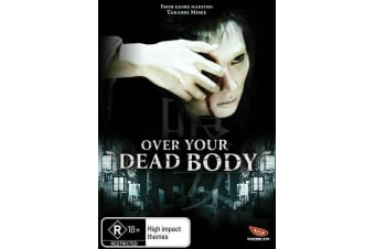 Over Your Dead Body  Region 4-  - Rare- Aus Stock DVD  PREOWNED: DISC LIKE NEW