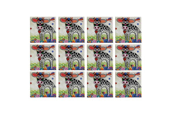 12pc Maxwell & Williams Smile Style Ceramic Tile Coaster Betsy 9cm Placemat