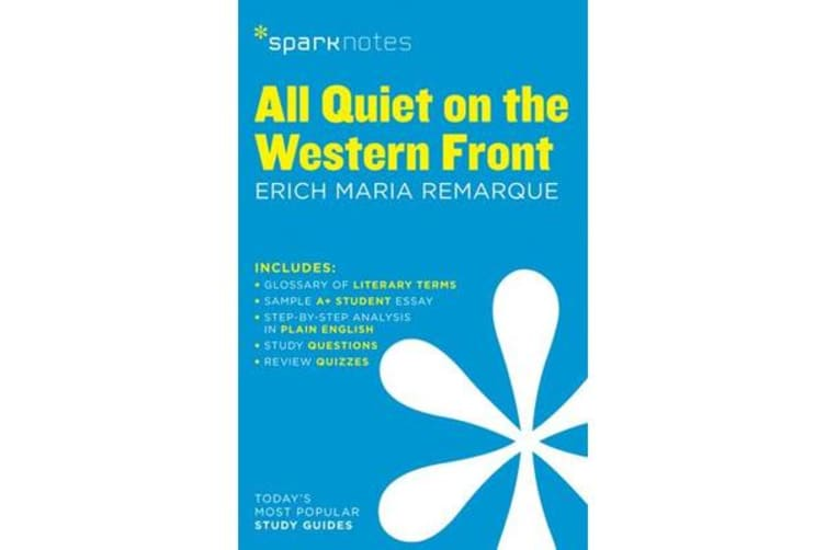 All Quiet on the Western Front SparkNotes Literature Guide