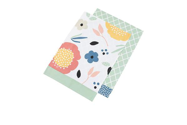 Anna Gare Elsie Tea Towel Diamonds
