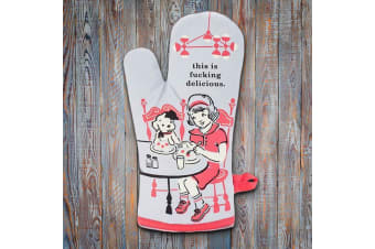 This is F#cking Delicious Oven Mitt