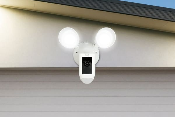 Ring Floodlight Camera (White)