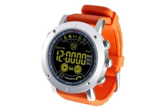 "TODO Bluetooth V4.0 Smart Watch 1.8"" Fstn Lcd Sports Tracker Ip67 Android Ios - Orange"