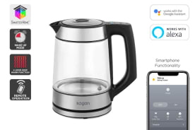 Kogan SmarterHome™ 1.7L Smart Glass Kettle