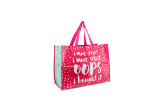 CGB Giftware Oh So Pretty Oops Shopping Bag (Pink)