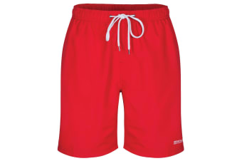 Regatta Great Outdoors Mens Mawson Mid Length Swim Shorts (Pepper)