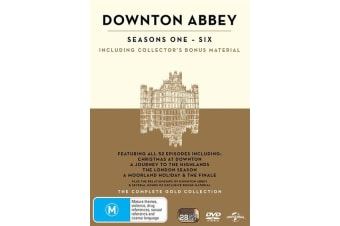 Downton Abbey The Complete Collection DVD Region 4