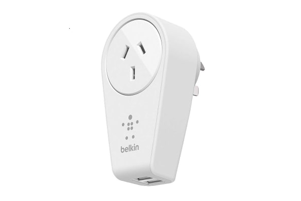 Belkin Boost Up 2-Port Swivel Charger and Outlet