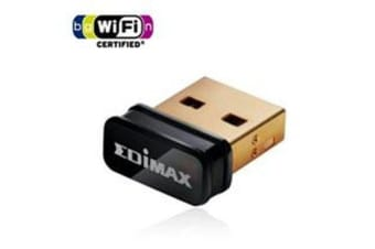 Edimax N150 USB Nano Adapter Wireless LAN/802.11bgn/W8 Comp