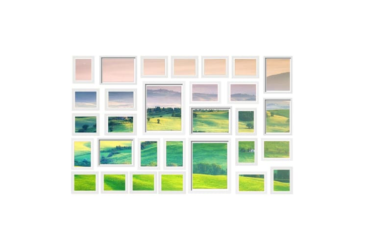 Artiss White Photo Frames Collage Picture Frame Wall Set Home Dcor Gift 30 pcs