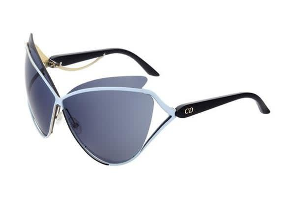 Christian Dior Audacieuse - Blue Gold Black (Avio Blue lens) Womens  Sunglasses - Kogan.com dbaa030dfe