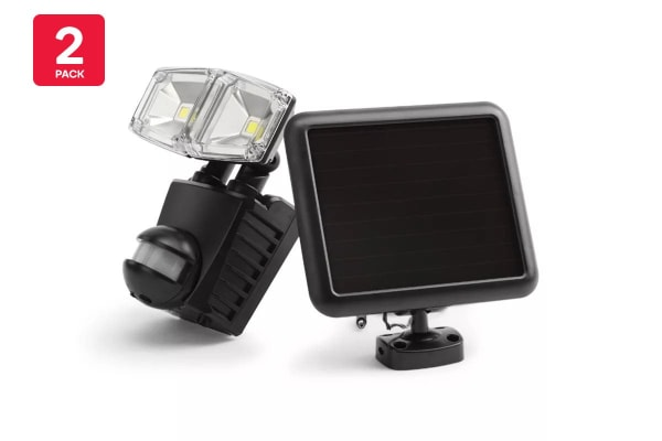 Kogan Solar Motion Sensor Dual LED Lights (2 Pack)