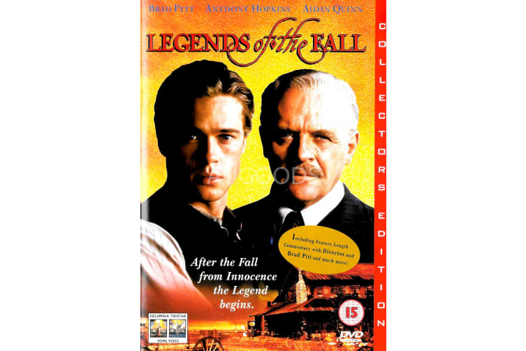 Legends of the Fall - Region 2 Rare- Aus Stock DVD PREOWNED: DISC LIKE NEW