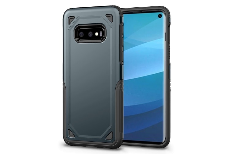For Samsung Galaxy S10e Case  Navy Blue Shockproof Armour Hard Back Phone Cover