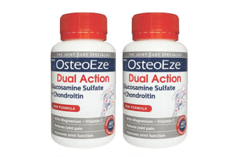 Herron OsteoEze 120 Tablet Dual Action Glucosamine Sulfate/Chondroitin f/Joint