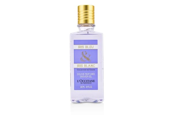 L'Occitane Iris Bleu & Iris Blanc Shower Gel (250ml/8.4oz)