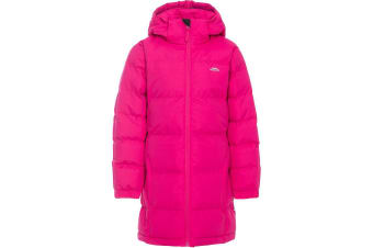 Trespass Childrens Girls Tiffy Padded Jacket (Pink Lady) (7/8 Years)