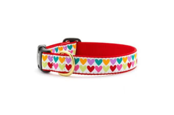 Up Country Pop Hearts Collar (Multicoloured)