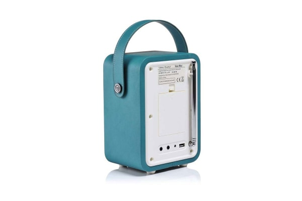 View Quest Retro Mini DAB+ Radio & Speaker - Teal (MINI-TL)