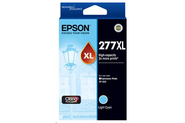 Epson 277XL High Cap Claria HD Light Cyan