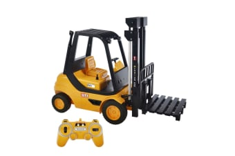 Double E 1:8 Remote Control RC Forklift w/ USB Charger/Lights/Sounds f/ Kids 6y+