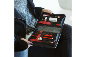 Gadget Organiser Travel Wallet | Compact, Lightweight & Uber Stylish!