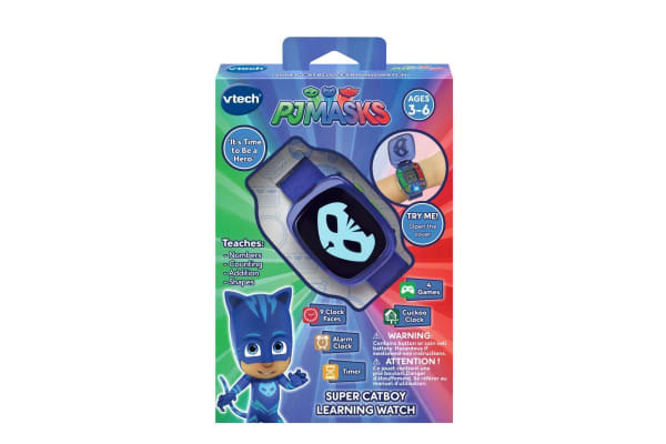 Vtech PJ Masks Super Catboy Learning Watch (Blue)