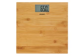 Propert Bamboo Digital Bathroom Scale 150kg