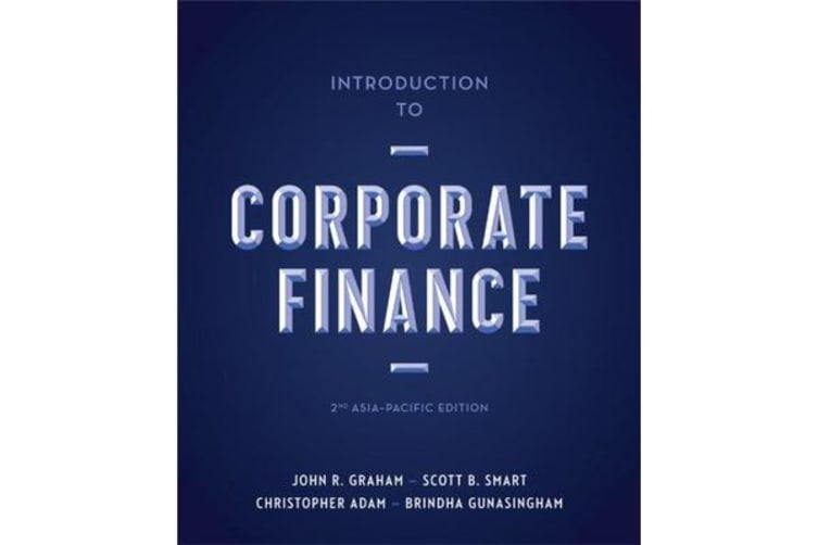 Introduction to Corporate Finance - Asia-Pacific Edition