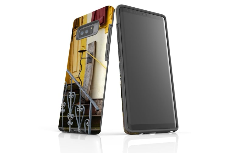 For Samsung Galaxy Note 8 Case Tough Slim Protective Cover Stairs