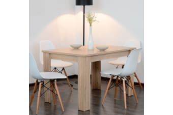 Artiss Dining Table Kitchen Tables 4 Seater Wooden Timber Rectangular Restaurant