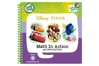 LeapFrog LeapStart book Disney Pixar Pals Maths in Action - 3D Enhanced