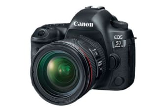 New Canon EOS 5D Mark IV with EF 24-70mm f/4L Lens Kit (FREE DELIVERY + 1 YEAR AU WARRANTY)