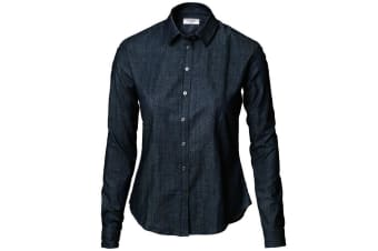 Nimbus Womens/Ladies Torrance Casual Denim Shirt (Indigo Blue) (L)