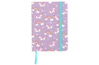 Something Different Small Unicorn Notebook (Multicolour)