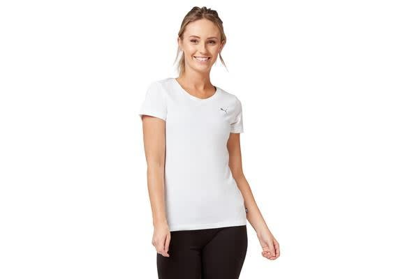 9a2c1f1832d Puma Women's Athletic Tee (White, Size M) - Kogan.com