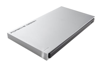LaCie Porsche Slim Design 1TB USB 3.0 Portable Hard Drive