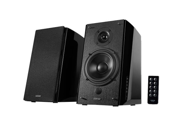 Edifier R2000DB 2.0 Lifestyle Bookshelf Bluetooth Studio Speakers - Black (SPE-R2000DB)
