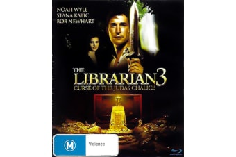 THE LIBRARIAN 3: CURSE OF THE JUDAS CHALICE - Rare- Aus Stock DVD NEW