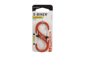 Nite Ize S-Biner SlideLock Aluminium #3 - Orange