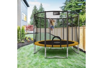 Genki 12ft Trampoline with Safety Enclosure Net
