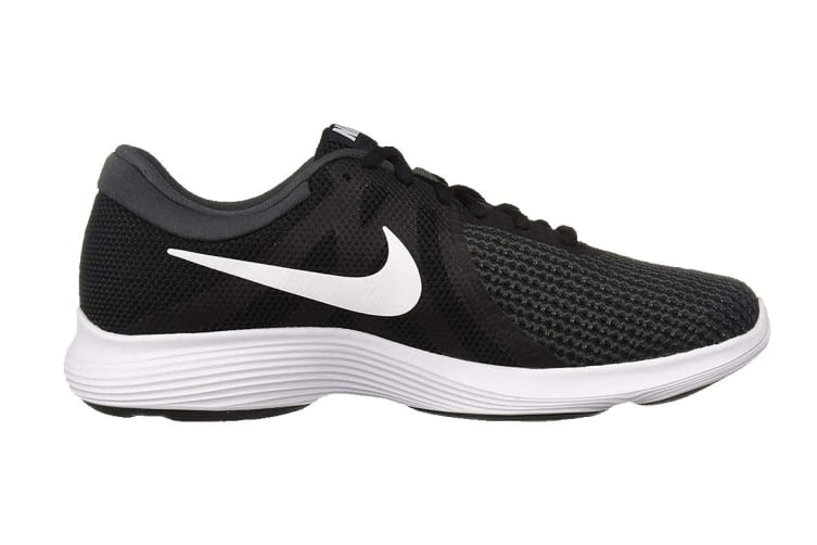 Nike Revolution 4 Men's Running Shoe (Black/White/Anthracite, Size 10)