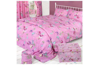 Mucky Fingers Childrens Fairyland Duvet Cover Bedding Set (Fairyland)