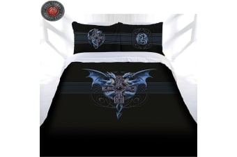 Anne Stokes Dragon Duo Quilt Cover Set Queen
