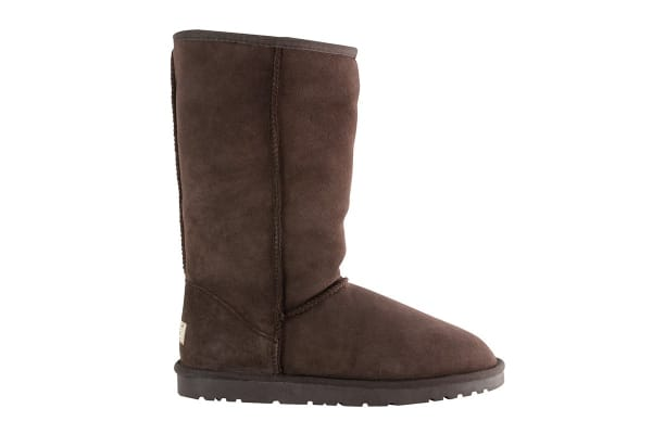 OZWEAR Connection Classic Long Ugg Boots (Chocolate, Size 8M / 9W US)
