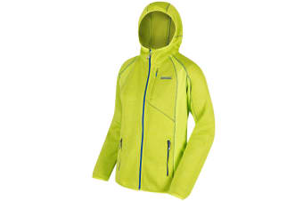 Regatta Great Outdoors Womens/Ladies Willowbrook III Full Zip Fleece Hoodie (Lime Zest) (16)