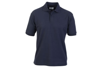 Absolute Apparel Mens Titan Polo (Navy)