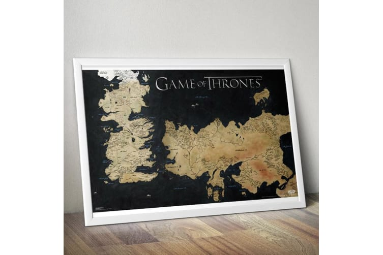 Smith | Game of Thrones Westeros Map Wall Poster 61 x 91cm ... on